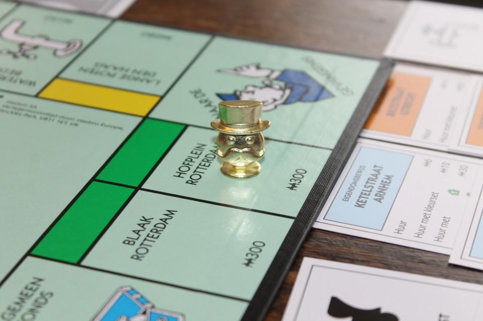 Gouden pionnen in de Monopoly Pionnenparade + Win
