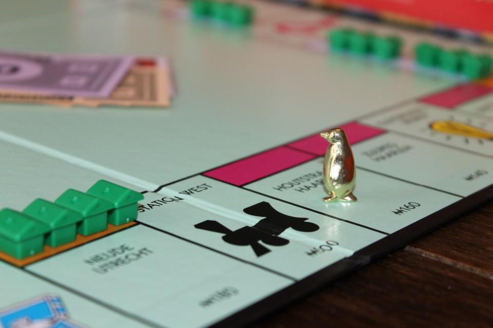Monopoly Pionnenparade pinguin