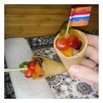 Een gezonde fruit traktatie mét een snoepje