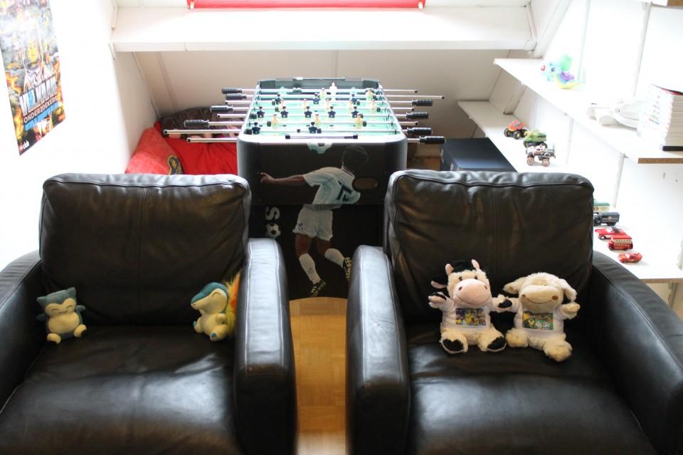 man cave kind gameroom