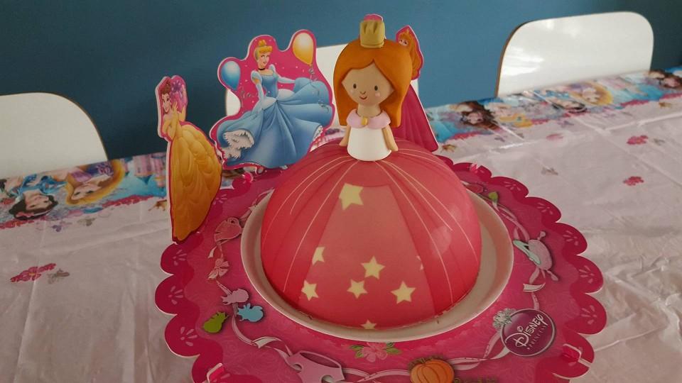 rapunsel prinses taart