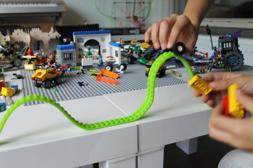 werkt lego tape goed?