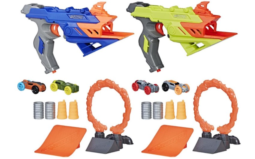 { Review } | NERF Nitro DualFury Demolition speelsets review