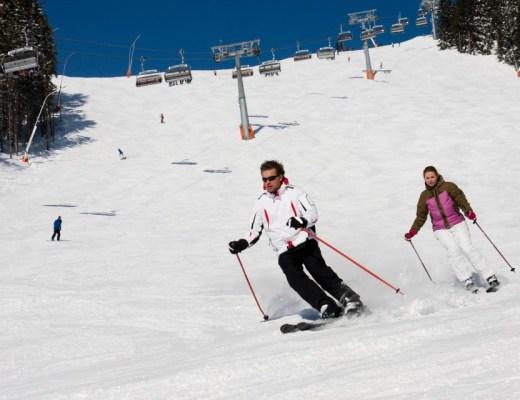wintersport Wintersportvakantie in de Alpen