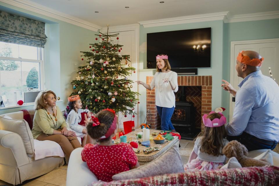 Zeer Kerst spelletjes voor kinderen en volwassenen - Go or No Go &ND07