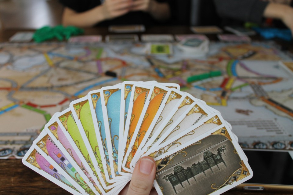 Ticket to Ride Europe kaarten
