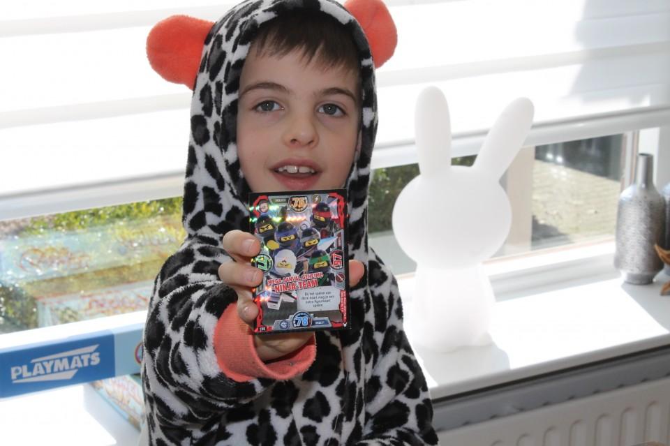 LEgo ninjago trading card game ruilkaart