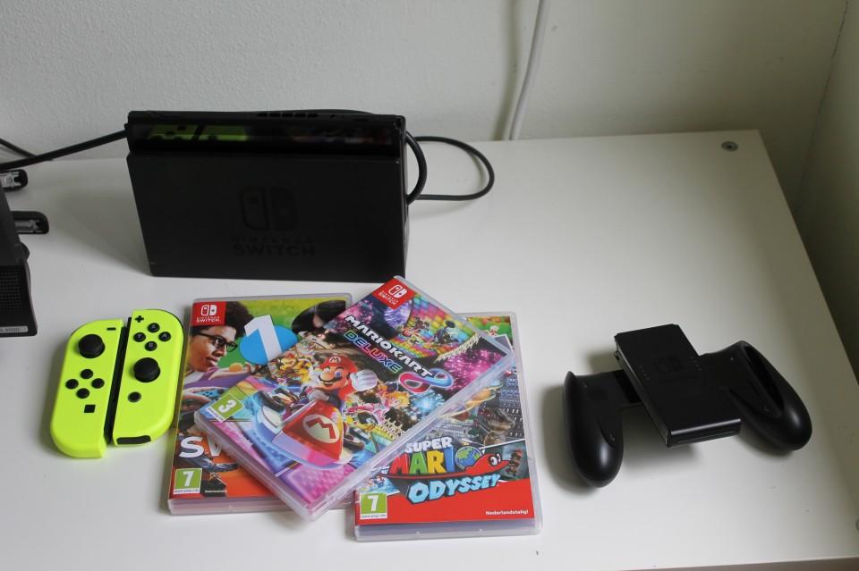 Nintendo Switch 8 jarige leuk