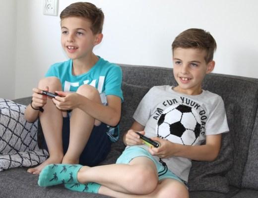Nintendo switch 8 jarige gamen