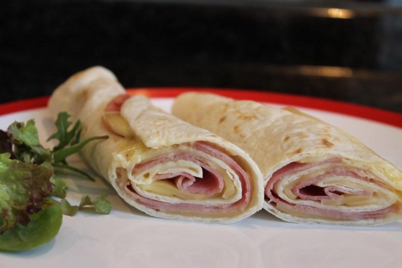 wrap met ham en kaas tosti recept