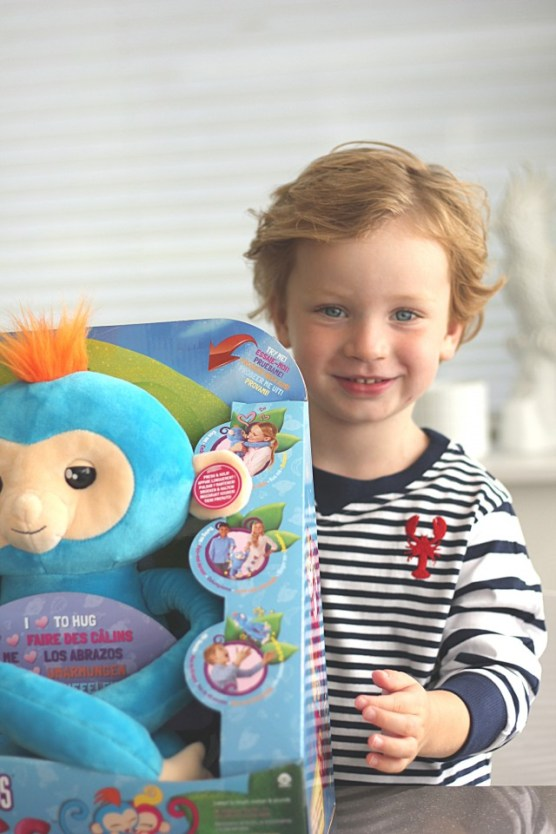 Fingerlings HUGS aap kind 5 jaar
