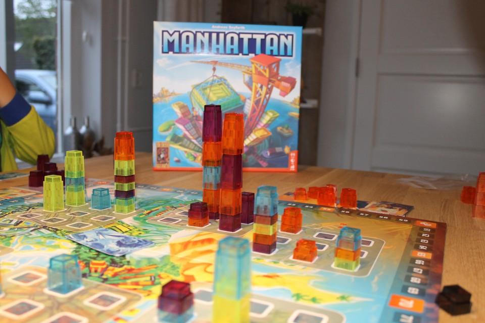 gezelschapsspel Manhattan 999 games