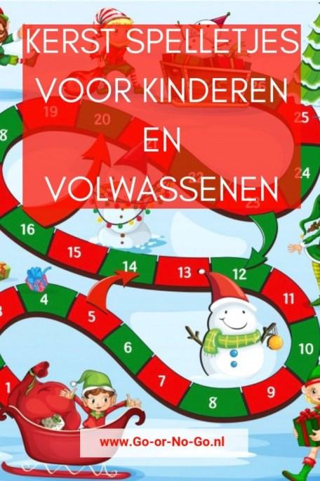 Genoeg Kerst spelletjes voor kinderen en volwassenen - Go or No Go #LV87