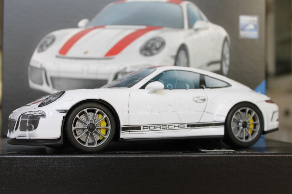 review 3d puzzel porsche