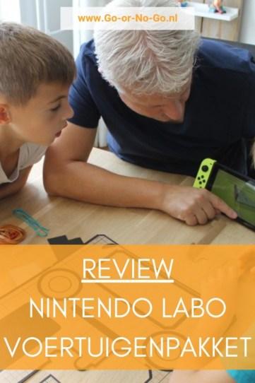 Review: Nintendo Labo voertuigenpakket