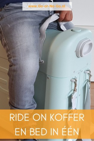 ride on koffer bed