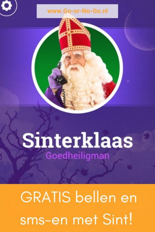 Jaaa, we mogen weer! Met deze toffe app kun je het hele jaar rond sms-en en bellen met Sinterklaas! Laat die Sinterklaas magie maar komen!