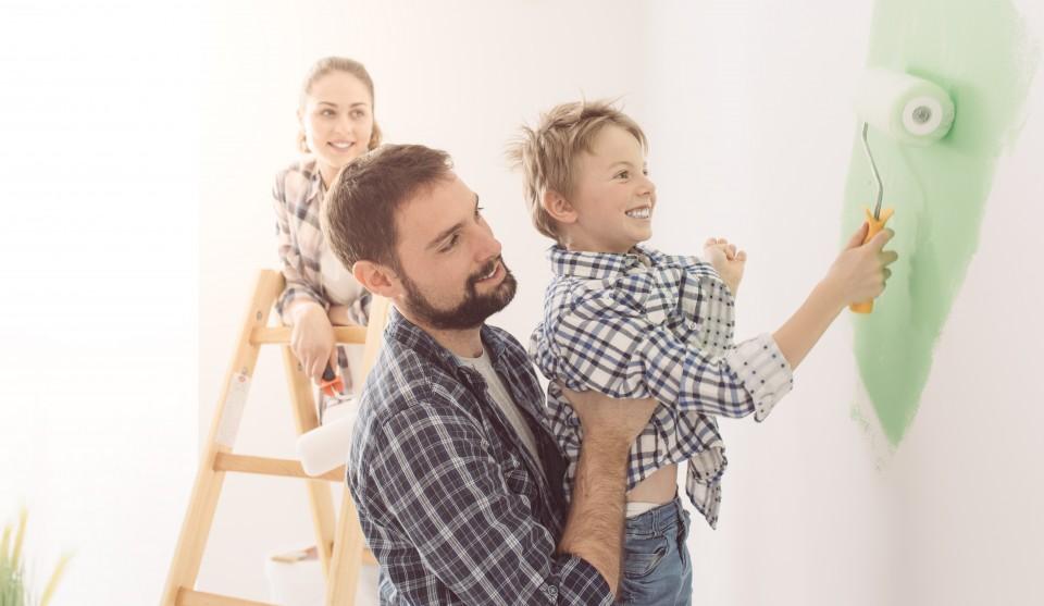 Verbouwen met kinderen
