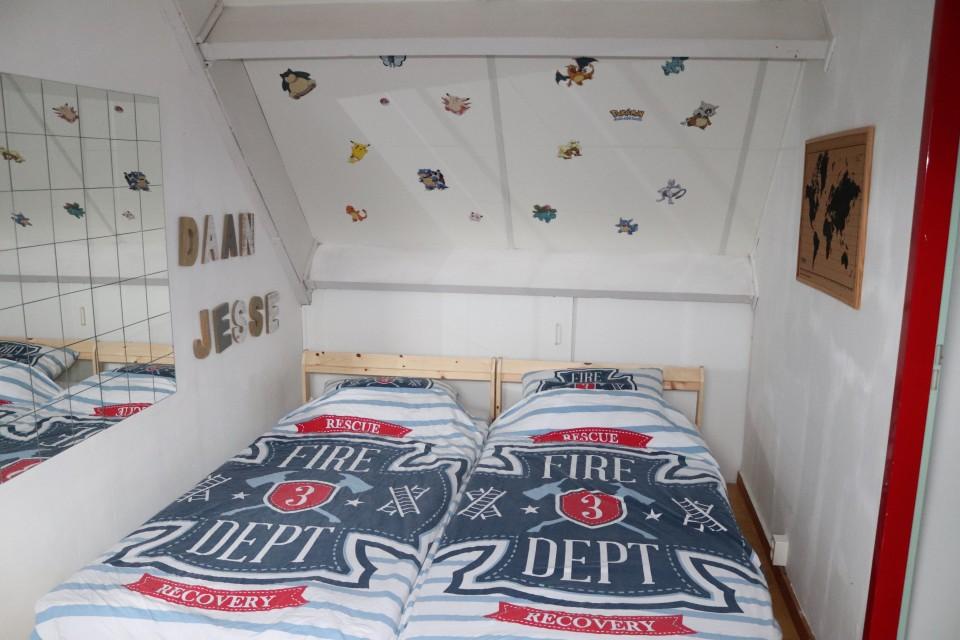 zolder slaapkamer logeerkamer