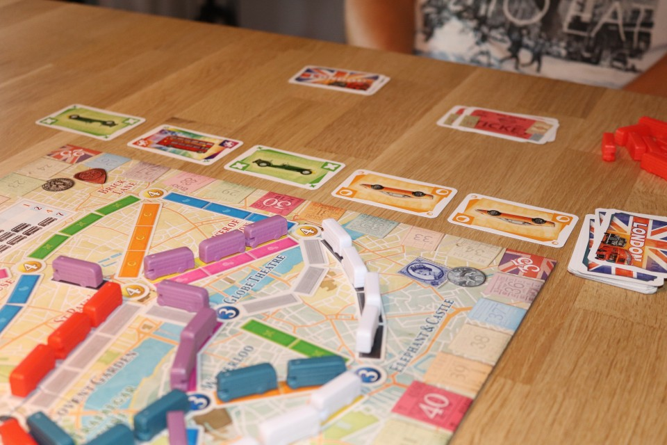 { Review } | Ticket to Ride London spel