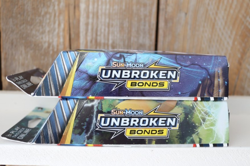 Pokémon Sun & Moon Unbroken Bonds thema deck