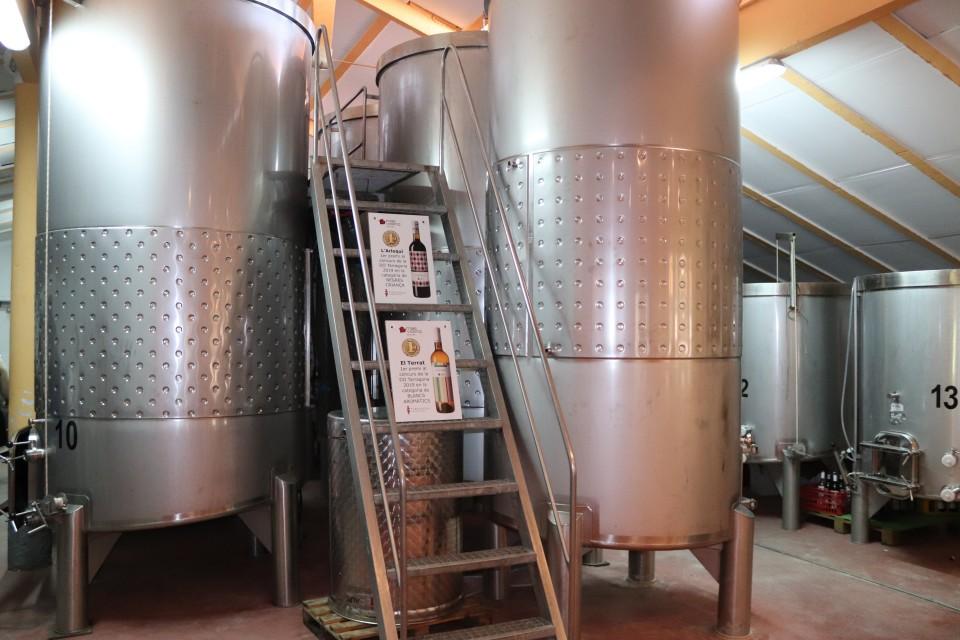 tips wijngaard Mas Vincenc in costa daurada tips ervaringen review