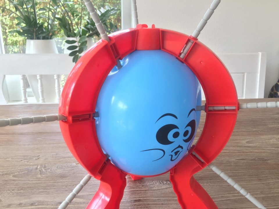 review boom boom balloon spel