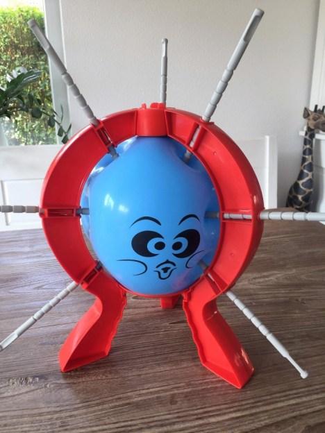 ballon prikken spel