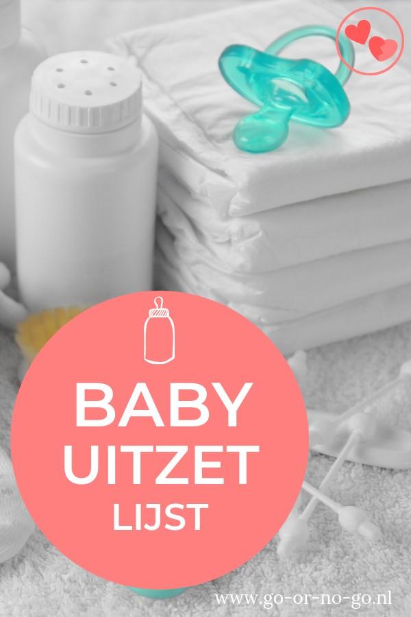 afvinklijst baby uitzetlijst