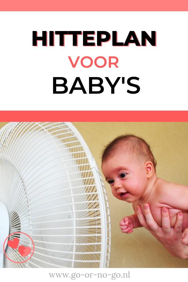 hitteplan voor baby's zomer warmte met baby tips