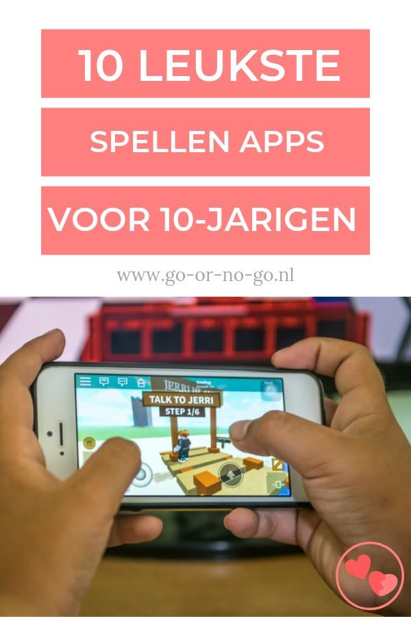 spellen apps voor 10-jarigen