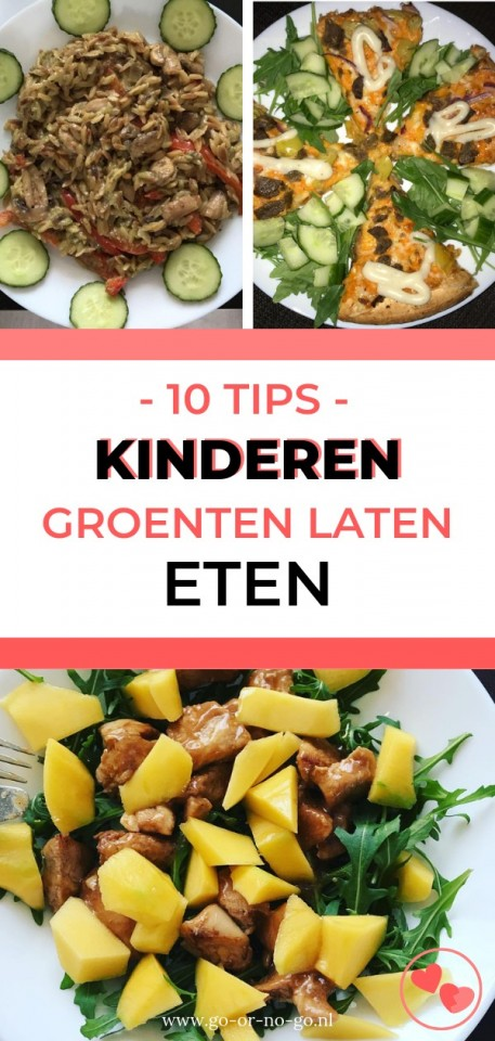 Kinderen groenten laten eten tips