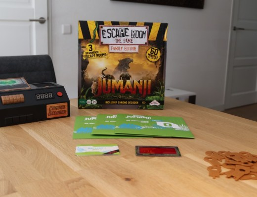 Review escape room the game jumanji