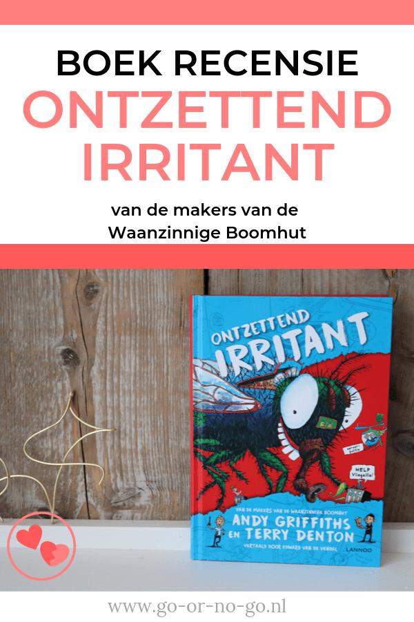 Ben jij fan van de Waanzinnige Boomhut boeken? Dan móet je het boek Ontzettend Irritant ook lezen. Geschreven door Andy en Terry van de Waanzinnige Boomhut reeks en echt hilarisch! #boek