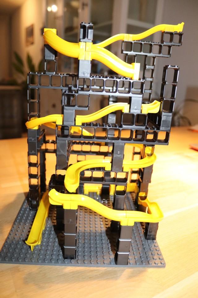 review lego knikkerbaan