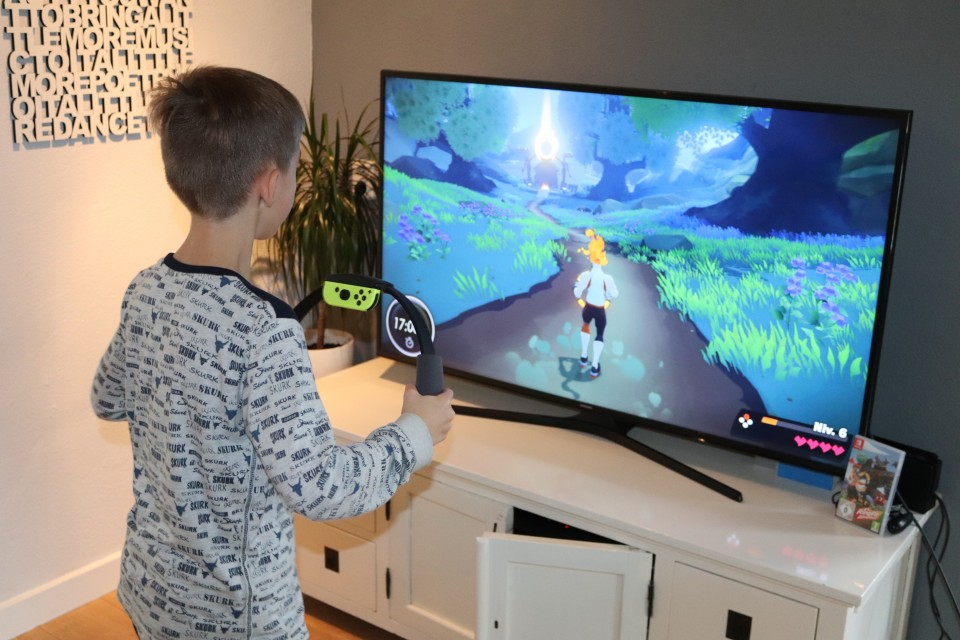 Sporten met de nintendo switch