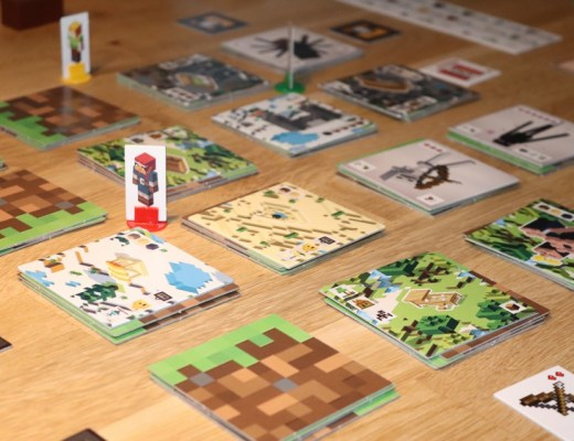 review Minecraft bordspel Builders & Biomes