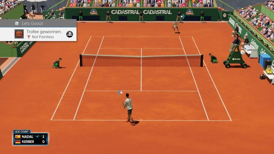 AO tennis 2 leuk voor 10 jaar