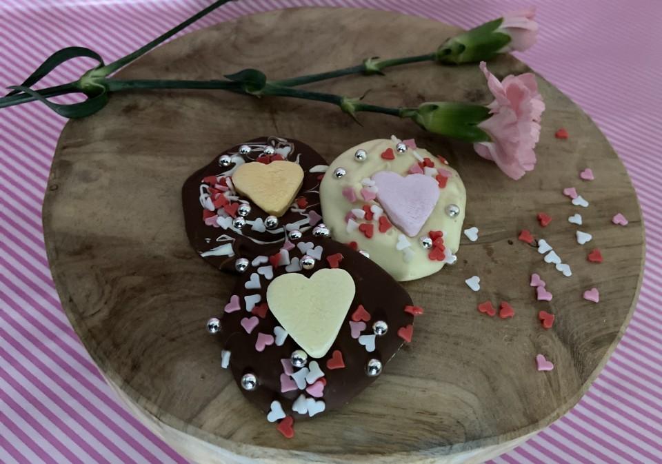 valentijns chocolade recept valentijnsbonbon