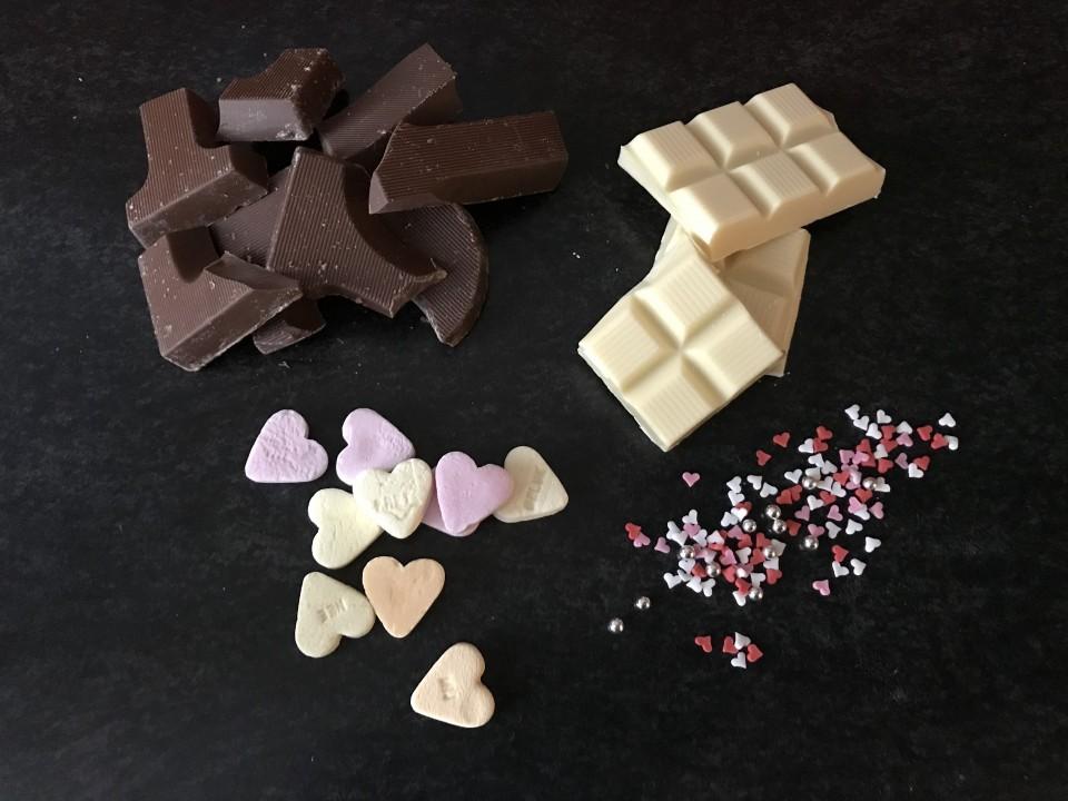 valentijns chocolade maken valentijnsbonbon