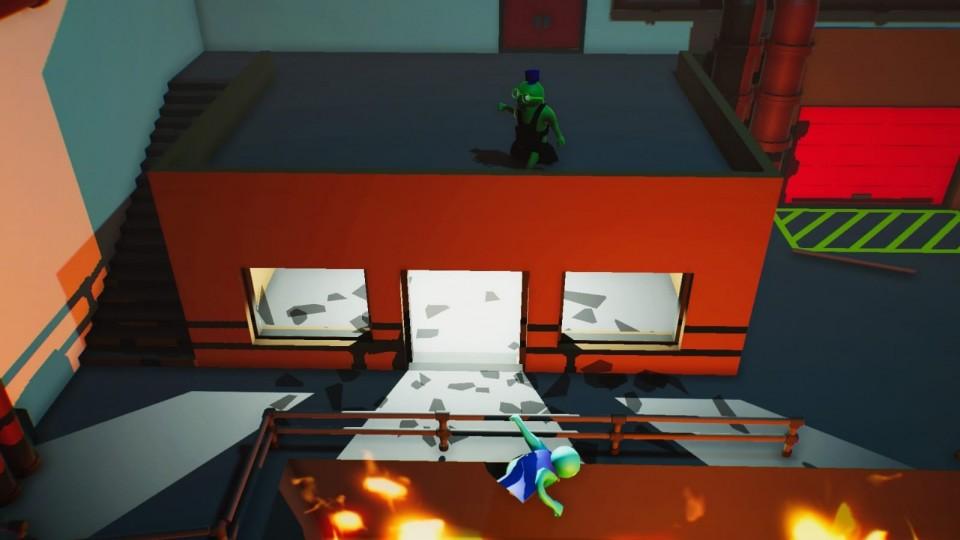 poppetjes kleuren vechten PS4