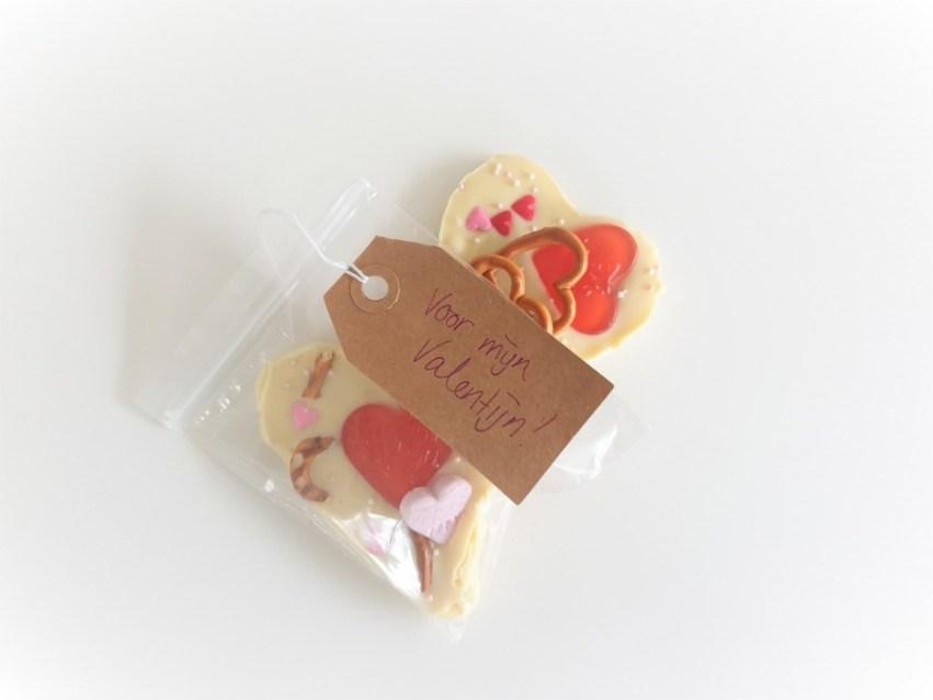 zelf valentijn chocolade maken