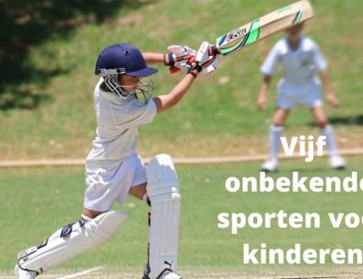 Vijf onbekende sporten voor kinderen die leuk zijn!