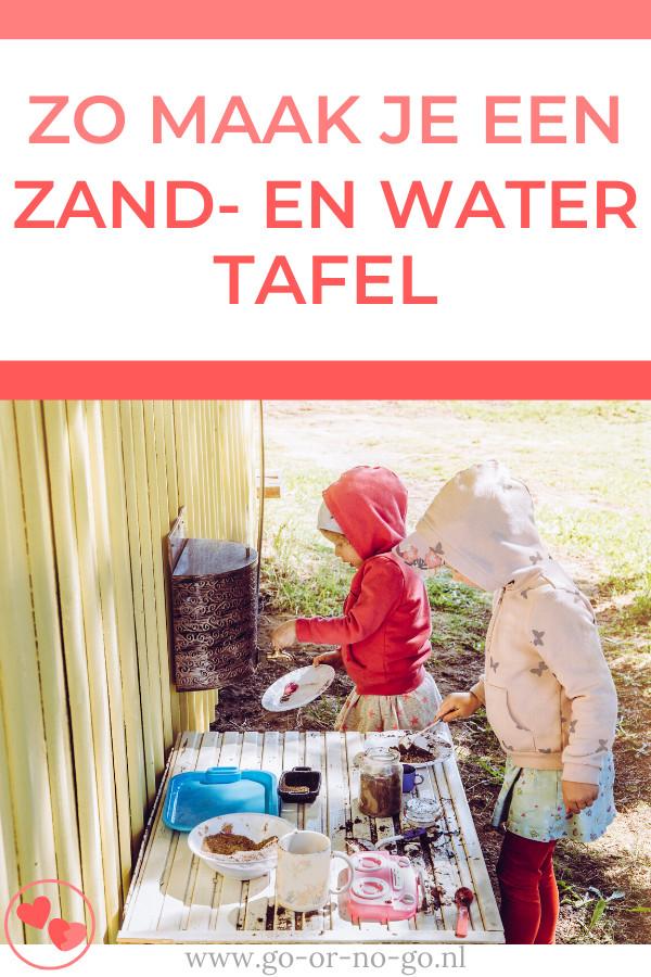 Kinderen kunnen helemaal losgaan met alleen water en zand. Goed nieuws, want na het lezen van dit DIY artikel kun je dus een zand- en watertafel maken.