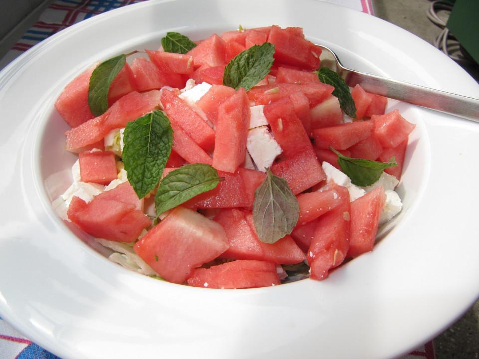 Zomerse recepten met watermeloen