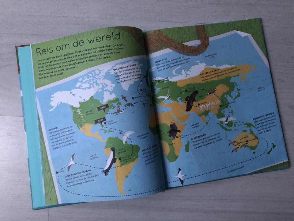 { Boek recensie } | In vogelvlucht de wereld rond