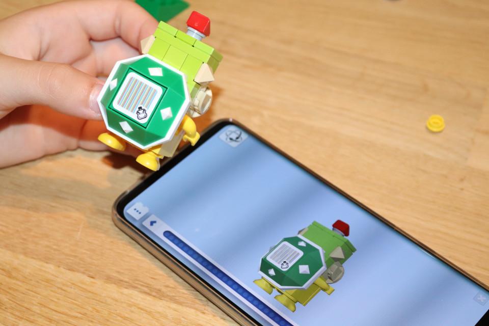 LEGO app bouwen