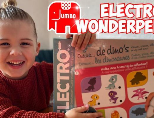 { Review } | Electro Wonderpen - Ontdek de Dino's