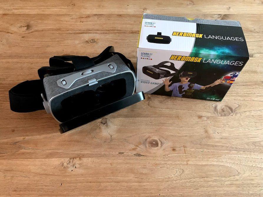 { Review } | Heromask - Leer talen met een VR bril