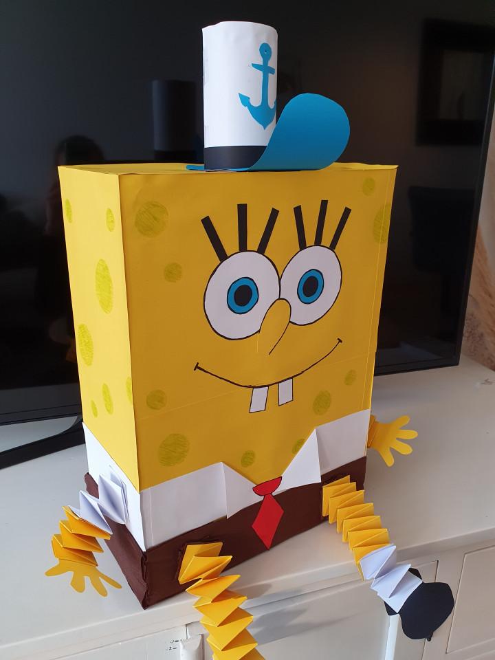 SpongeBob surprise voor Sinterklaas